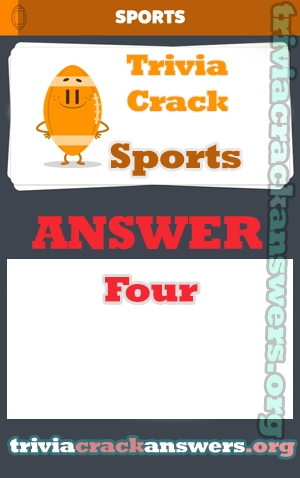 Trivia crack Sports answers